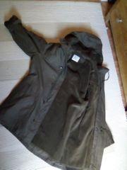 Bundeswehrparka warm oliv Gr 12