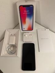 iPhone X - 256GB Speicher - Space-Grau