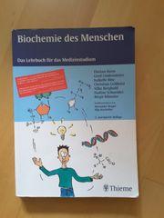 Medizinstudium Biochemie des Menschen 2