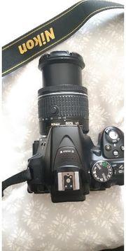 Nikon D5300 Nikkor Af-P 18-55mm