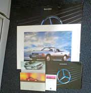 Konvolut Mercedes SL 129