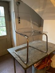4x IKEA Plexiglas Stuhl Tobias