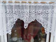 Fenster- Scheibengardine 140 cm für