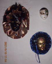 Venezianische masken Konvolut 4