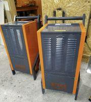 Vermietung Bautrockner Verleih 80L Luftentfeuchter