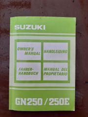 Fahrer Handbuch für die Suzuki