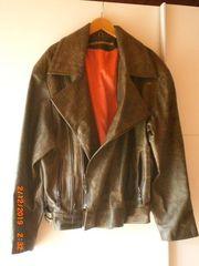 XXL Harley Davidson Lederjacke