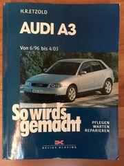 Taschenbuch R Etzold Audi A