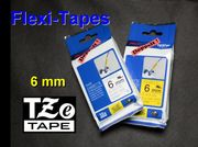 Original brother TZe-FX211 TZe-FX611 Flexi-Tape 6