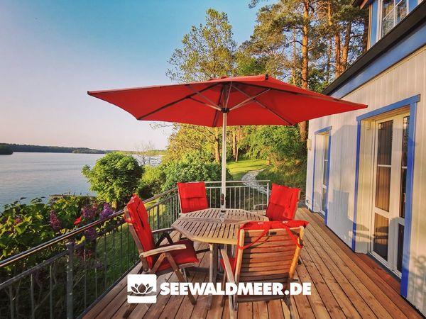 Ferienhaus direkt am Wasser Pinnower