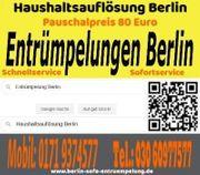 Haushaltsauflösung Berlin Pauschalpreis 80 Euro