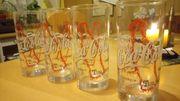 8 Coca Cola Gläser 0