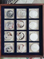 Münzsammlung Die ersten EUROPA-Prägungen I