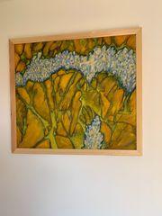 Ölbild auf Leinwand mit Rahmen