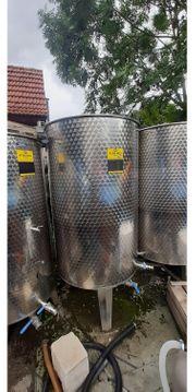 Edelstahl Tank Weintank und Wassertank