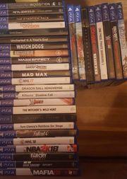 Spieleauflösung (teilweise) Playstation