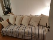 Schöne Rattan Schlaf Couch