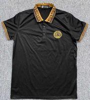 Versace Poloshirt Gr M schwarz