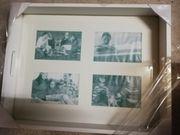 Serviertablett mit Fotos Holz