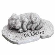Grabschmuck Tiergrab kleine Hunde Figur