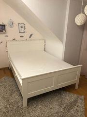 Jugendbett weiß - 140cm 200cm inkl