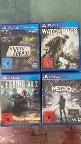 PlayStation 4 - PS4 Spiele wie neu 8Stück