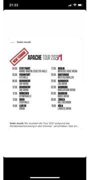 Apache 207 Konzertkarten Tour 2021