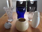 Vasen Blumenvasen und Übertöpfe verschiedene
