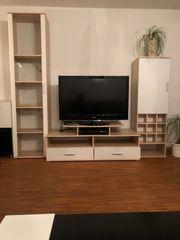 Wohnwand ohne TV zu verschenken