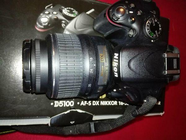 Einsteiger Spiegelreflexkamera, Nikon m. Objektiv uvm. , Komplettkit
