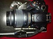 Einsteiger Spiegelreflexkamera Nikon m Objektiv