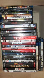 DVD Blu-ray Sammlung Aktion Horror