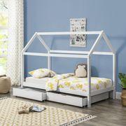 Kinderbett B90 200cm lackiert NEU