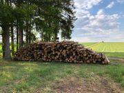 Brennholz 1m Länge - ungespalten - 29EUR