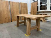 Holztisch massiv Eiche Neu mit