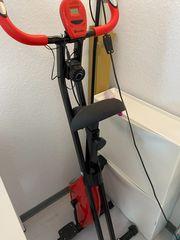 klappbar Heimtrainer Fahrrad mit Trainingscomputer