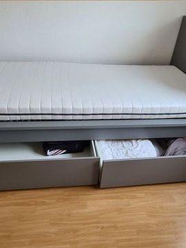 Betten - Bett mit Bettkästen 90 2