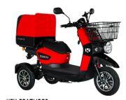 Elektroroller Dreirad fürs Einkaufen