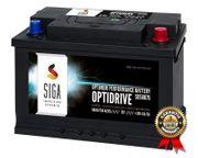 SIGA Autobatterie 80Ah 750A Batterie