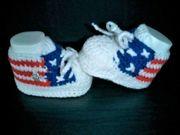 Babyschuhe Booties USA für Mädchen