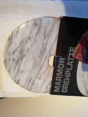 Marmorteller Marmorplatte Kuchenplatte Servierplatte Wurstplatte