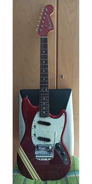 Rarität FENDER E-Gitarre Mustang m
