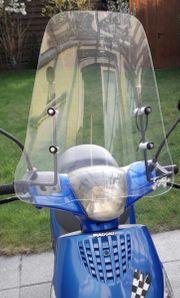 Windschild für Motorroller
