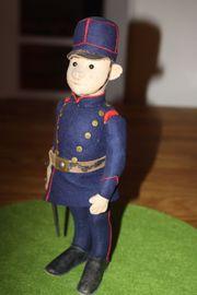 Seltener Steiff Soldat mit Knopf