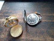 2 Taschenuhren mit Handaufzug u