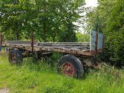 Große Ackerrolle Traktoranhänger Fahrgestell Grundgestell