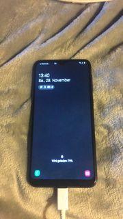 Samsung A 10 Schwarz