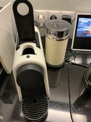 nespresso maschine mit milchaufschäumer