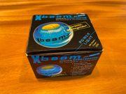 GyroTwister Xbeam blau-gelb mit Drehzahlmesser