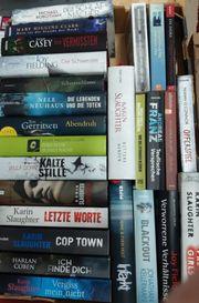 250 verschiedene Bücher Thriller Krimi